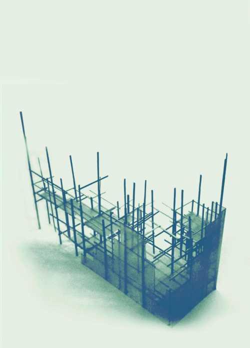Gestaltung eines Pavillons anlässlich des Urban Festival Helsinki 2oo5. Kostengünstige, temporäre Konstruktion aus Bauholz und Doppelstegplatten.
